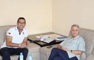 البطل المغربي و العالمي مصطفى لخصم وكيلا للائحة حزب الاتحاد الدستوري بدائرة صفرو