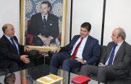 السيد احمدو الباز يستقبل المستشار الأول بالسفارة الاسبانية بالرباط.