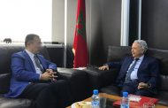 ساجد يستقبل السفير الصيني بالمغرب