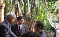 السيد ساجد يستقبل وفدا يابانيا