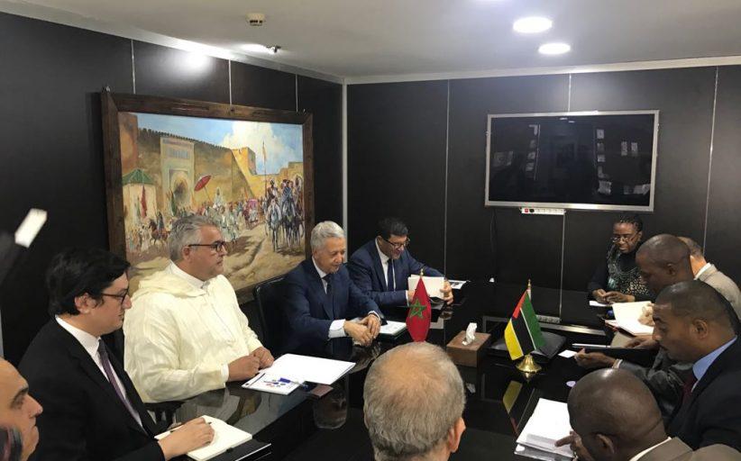 تعزيز التعاون الثنائي محور مباحثات السيد ساجد مع نظيره نائب وزير الموارد المعدنية والطاقة لجمهورية الموزمبيق