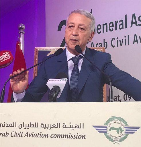 السيد ساجد يدعو إلى تغيير مفهوم التعاون العربي في مجال النقل الجوي عبر تجاوز المعايير القديمة ومواكبة التطور الذي يعرفه القطاع