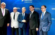 السيدمحمد ساجد يعقد لقاء مع وزير البنيات التحتية والتخطيط البرتغالي