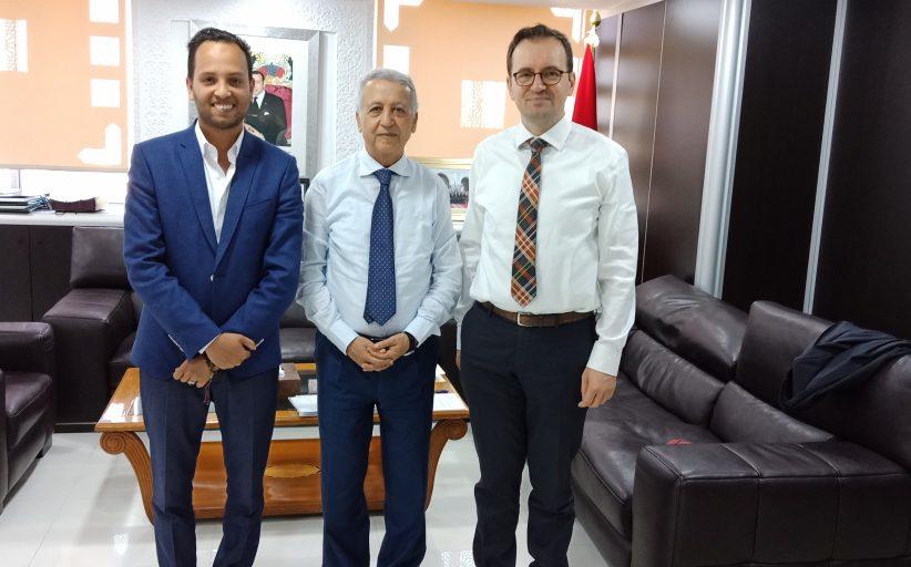 تعزيز التعاون الثنائي محور لقاء السيد ساجد بمدير المعهد الوطني الديمقراطي