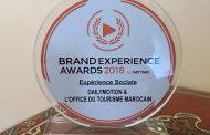 """المكتب الوطني المغربي للسياحة يفوز بباريس بالجائزة الذهبية عن فئة """"التجربة الاجتماعية"""""""