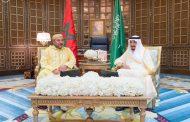 العاهل السعودي يستقبل ساجد ويكلفه بإبلاغ تحياته وتقديره للملك محمد السادس