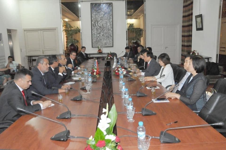 تعزيز التعاون المغربي-الكوري محور مباحثات السيد بركايو مع نائب رئيس الجمعية الوطنية لكوريا الجنوبية