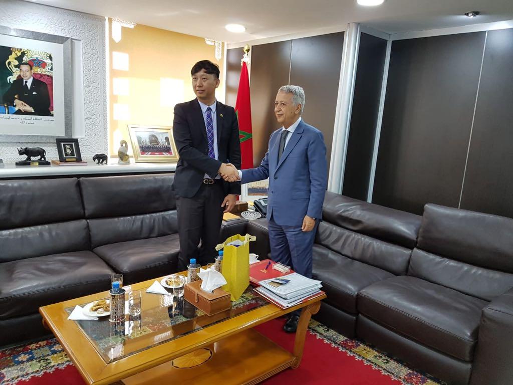 السيد ساجد يستقبل القائم بالأعمال بسفارة سلطنة بروناي دار السلام الرباط(بـــــــــــلاغ صحـــــفي)
