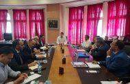 السيد ياسيرعادل يعقد لقاء عمل مع وفد يمثل الشركة الفرنسية المنظمة لمعرض