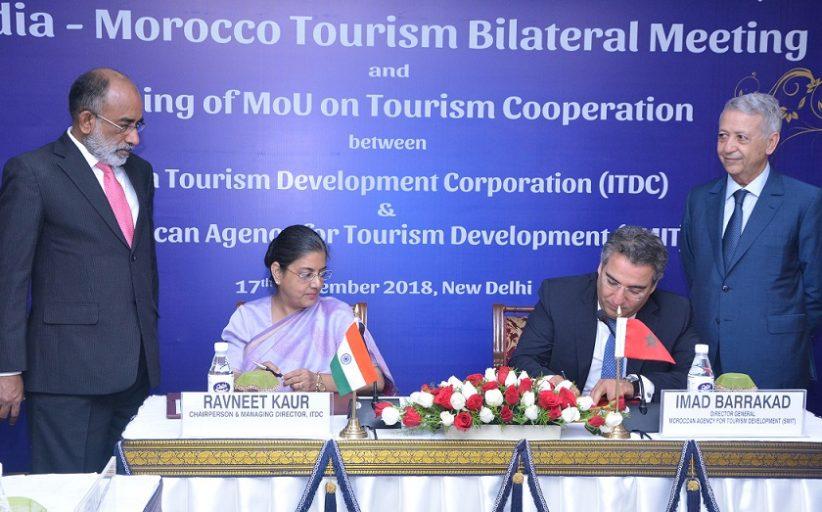 المغرب والهند يبحثان في نيودلهي سبل تعزيز تعاونهما في مجال السياحة والاستثمار