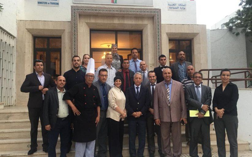 السيد ساجد في زيارة تفقدية للمعهد المتخصص للتكنولوجيا التطبيقية الفندقية والسياحية بأكادير