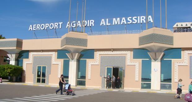 مطار المسيرة ـ أكادير.. تسجيل ارتفاع بنسبة 21.46 فالمائة  فيعدد المسافرين